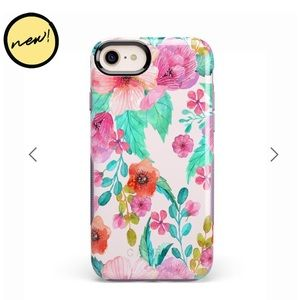 Accessories - Casely floral iPhone 8 case